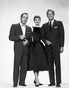 Sabrina (1954) - Audrey Hepburn, Humphrey Bogart & William Holden