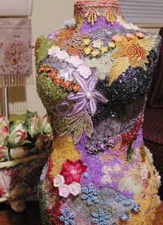 My Handmade Embellished Mannequin...
