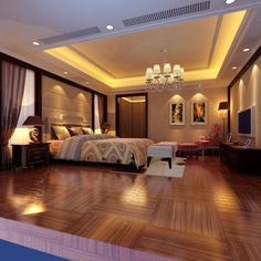Ceiling Design In Your Bedroom 33