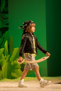 Phillipp Plein fun catwalk show at Pitti Bimbo 79 for spring/summer 2015 kids fashion
