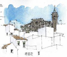 Vejer, iglesia del Divino Salvador by Luis_Ruiz, via Flickr