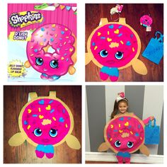 D'lish donut, shopkins Halloween costume