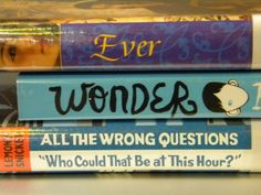 Becky B 2013 Book Spine Poem Gallery