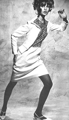 Vogue UK April 1965  Jean Shrimpton by David Bailey