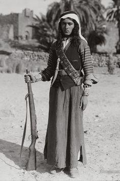 fnhfal:  Bedouin Warrior -Egypt