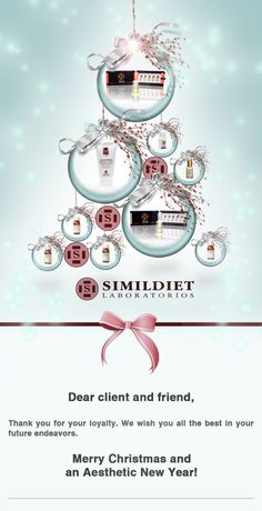 The team SIMILDIET wishes you Merry Xmas!
