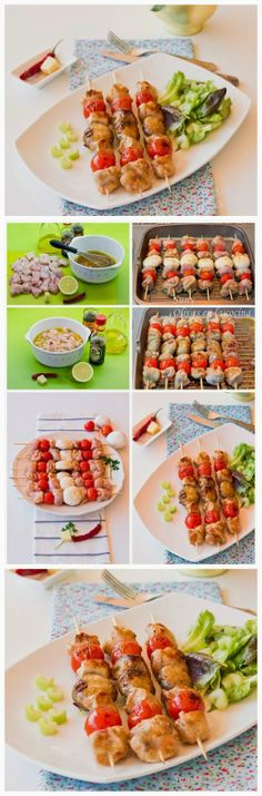 Easy Marinated Chicken Skewers Recipe