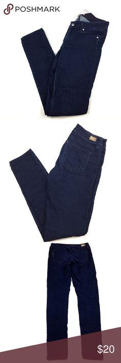 "Paige PEG SKINNY size 27 Dark Wash Pants Paige PEG SKINNY size 27 Dark Wash Denim Jeans Pants 33"" Inseam  Measurements taken while laying flat: Inseam:33"" Waist:14.5"" PAIGE Pants Skinny"