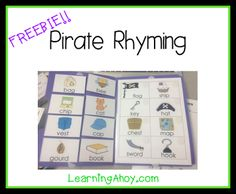 Learning Ahoy!!: Pirate box & a freebie