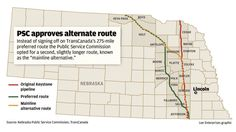 If TransCanada still wants to build the Keystone XL pipeline on its newly approved route through Nebraska, the company might have to go through Dennis Witzel first.