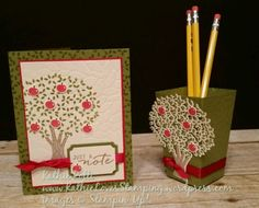 Stampin Friends Fall/Back to School Blog Hop | Kathie Loves Stamping Thoughtful Branches Stamp set Bundle Stampin Up