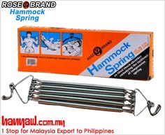 Visit- http://www.hanyaw.com.my/Products/Rose_Brand_Hammock_Spring_S204.html