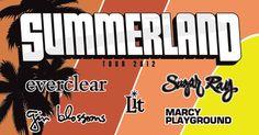 JULY 06: SUMMERLAND TOUR 2012