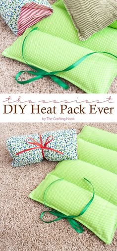 You won't believe how easy it is to make this and it doesn't require for you to be expert at sewing. This is the easiest DIY Heat Pack you will ever make!!! Either if it's for yourself or as a gift you will have it done in about 20 minutes.