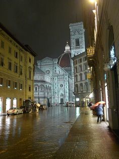 Florence, Italy. I know this exact spot.