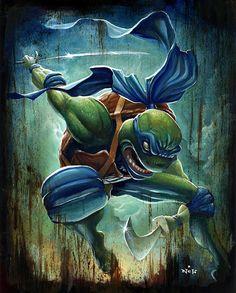 TMNT - Leonardo by N.C. Winters