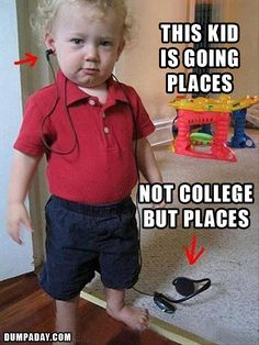 "Funny ""This Kid Is Going Places"" Pictures – 17 Pics.. The ""evil"" kid is my fave."