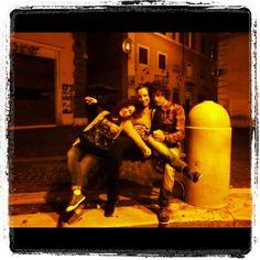 Fontana with friends