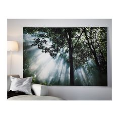 PREMIÄR Picture IKEA Motif created by Bill Philip. With a large picture you can create mood and atmosphere in a whole room.