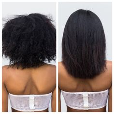 Go straight! Stay curly! (Or anything in between.) Our new #PersonalizedBlowOut is a customizable, zero-downtime keratin treatment powered by K-Pure Juice. Results like these can last up to three months!