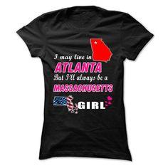 Always Be A MASSACHUSETTS Girl Tee! T Shirts, Hoodies. Check price ==► https://www.sunfrog.com//Always-Be-A-MASSACHUSETTS-Girl-Tee-ladies.html?41382 $19
