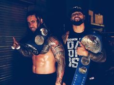 The USOS SmackDown Tag Champions