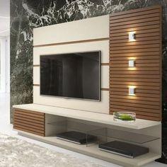 44 Modern TV wall units - unique living room TV ca Modern Tv Unit Designs, Wall Unit Designs, Modern Tv Wall Units, Modern Tv Cabinet, Tv Unit Decor, Tv Wall Decor, Lcd Wall Design, Design Case, Lcd Unit Design