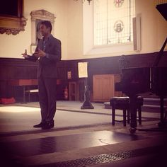In concert at St Mary at Hill #ConcertTalk # PianoFingers #London