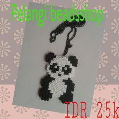Panda hama beads by pelangi_beadsshop
