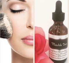 Benefits of #mashk #firmingserum for flawless makeup. Add 1 drop in your #makeup #foundation and notice the difference.