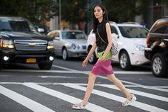 Fei Fei Sun Street Style Fashion Week Spring 2015 - NYFW Street Style Photos - Marie Claire