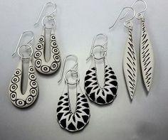 Earrings by BARB FAJARDO | Polymer Clay Planet