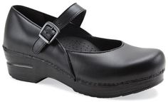 The Dansko Maryjane from the Stapled Clog collection.