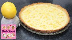 Homemade Lemon Pie Recipe - How to make Lemon Tart - French Lemon Tart - Delicious Full recipe & ingredients: ▼ Learn More ▼ Thanks for watching! Lemon Pie Recipe, Pie Recipes, Tart, Pudding, Homemade, Desserts, How To Make, French, Food