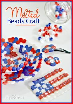 If you're looking for an easy craft to make this summer with the kids, try this fun melted beads craft. Get creative with different bead colors and shapes – create bowls, fun flower acc…