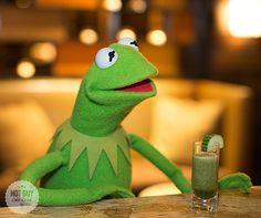 Kermit the frog!!! <3
