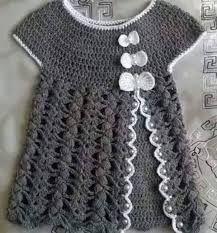 Risultati immagini per vestito bimba uncinetto schemi