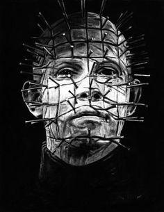 Image result for pinhead hellraiser art