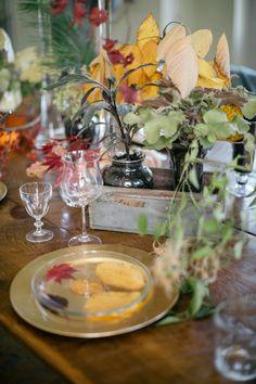 Foraged Autumn Tablescape Detail