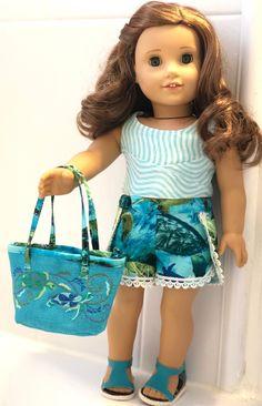 For American girl//Gotz//Journey Girls Beach Hut Camp Hangout Wooden dollhouse Lea