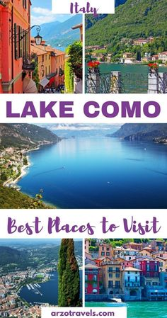 How to spend some wonderful places in Lake Como, Italy. Things to see and do. #italianholidaystravel