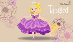 Disney Princess Young ~ Tangled by miss-lollyx-33