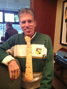 "The ""BIG"" Cheese! KI CEO Dick Resch! A great day at Lambeau Field for football! #KIredzone"