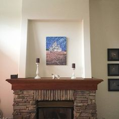 Original canvas painting of 'Helsinki Cathedral' at it's new home over a fireplace somewhere near Vancouver in Canada. #instart #instaart #taide #konst #art #paintings #artcollector #sold #artcollective #helsinkicathedral #tuomiokirkko #helsingintuomiokirkko #hoganfinland #hogan #hoganart #artgallery #domkyrkan #canvaspainting #instalike #instagram #instalikes #kunst #original #nagohnala #vancouver #canada #artwork