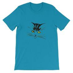 Cat Unisex Short Sleeve T-shirt S-4XL by Channel Zero Tshirts
