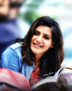 Cutie samantha❤❤❤ South Actress, South Indian Actress, Beautiful Indian Actress, Samantha Images, Samantha Ruth, Beautiful Mind, Bad Hair Day, Her Smile, Bollywood Celebrities