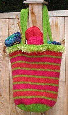 Free Knitting Pattern - Bags, Purses & Totes: Suki