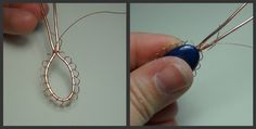 In this tutorial you will learn step by step how to make a pendant with a bezel made from wire.  I recommend starting with a stone that is round or oval if you are just starting.  I use 28 gauge wi…