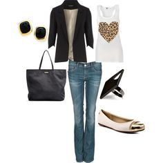 strolling through town. by august29 on Polyvore