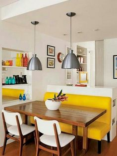 6 Clear Tricks: Kitchen Remodel Cost Budget ikea kitchen remodel little houses.Kitchen Remodel Tips Beautiful kitchen remodel simple. Small Room Design, Dining Room Design, Inside Design, Condo Kitchen Remodel, Kitchen Remodeling, Apartment Kitchen, Remodeling Ideas, Petites Tables, Small Dining